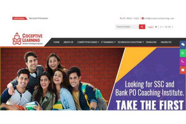 Coceptivelearning | Education Website Designing