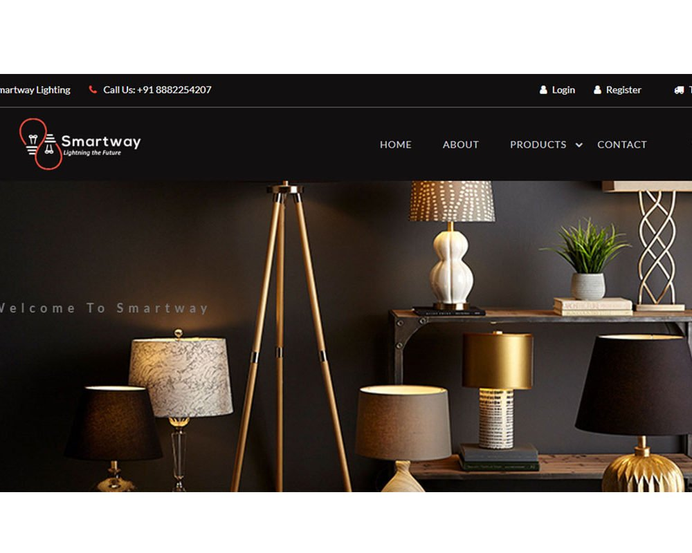 Smartwaylighting | Ecommerce Website Designing