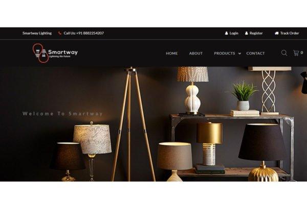Smartwaylighting   Ecommerce Website Designing