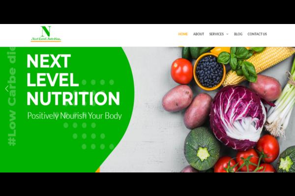Nextlevelnutrition.in   Nutrition website designing