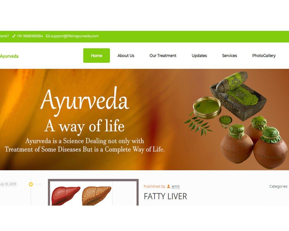 life in ayurveda