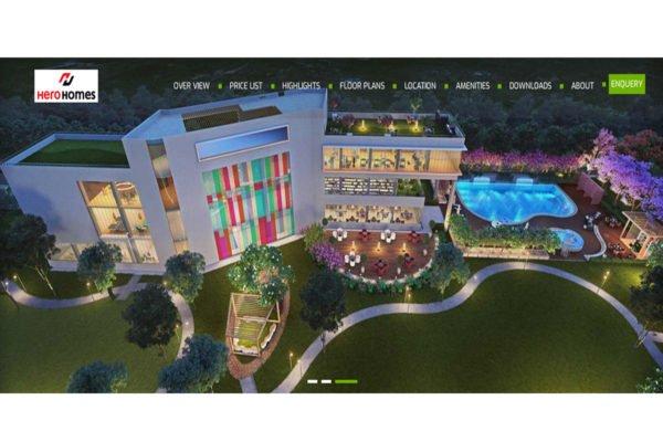 Hero Homes  | Real Estate Website Designing