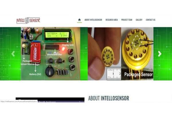 INTELLOSENSOR  | Tech Support Website Design