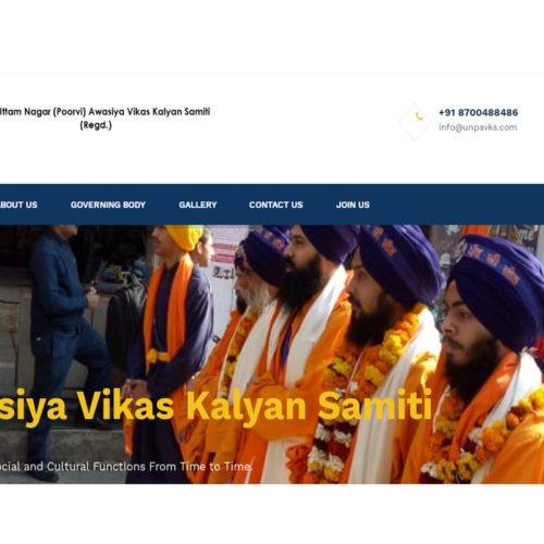 Uttam Nagar (Poorvi) Awasiya Vikas Kalyan Samiti.