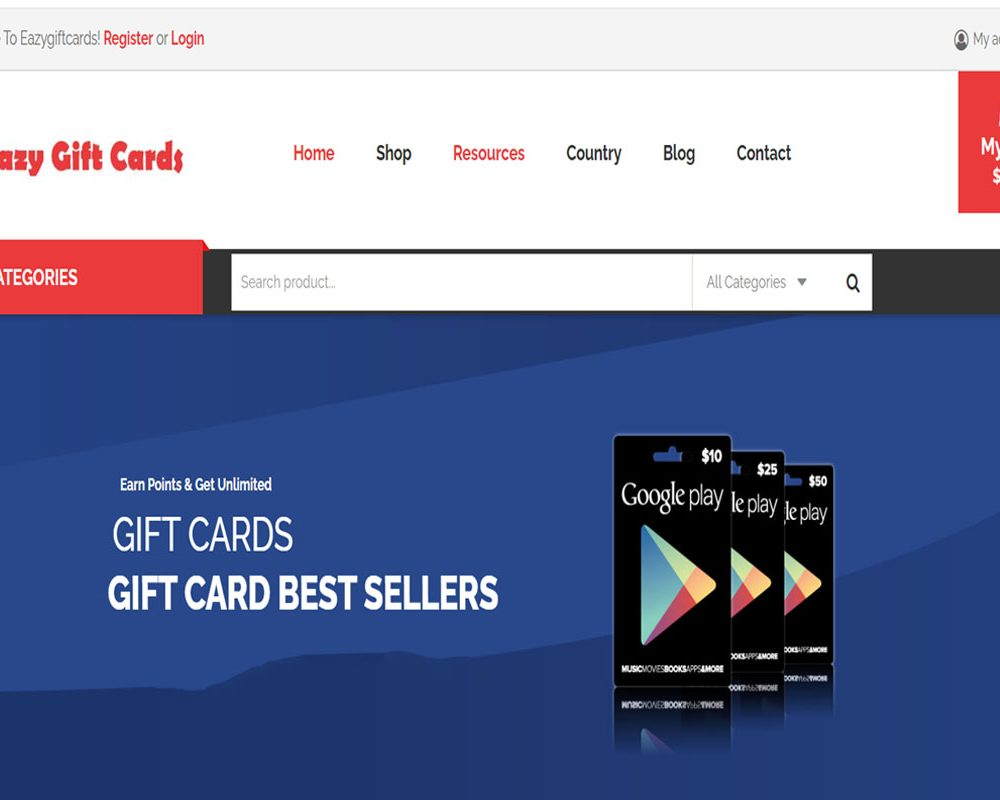 Eazygiftcards