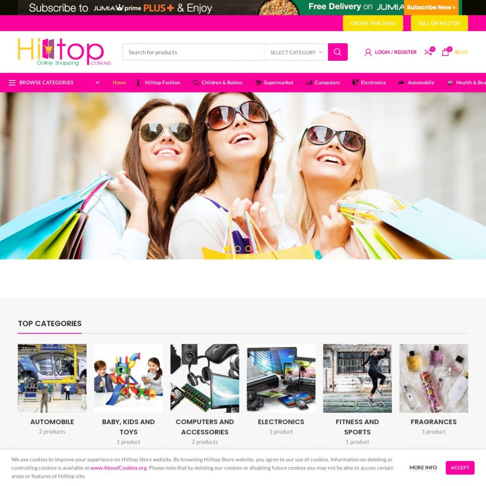 HILLTOP | Multivendor Website Designing in Delhi