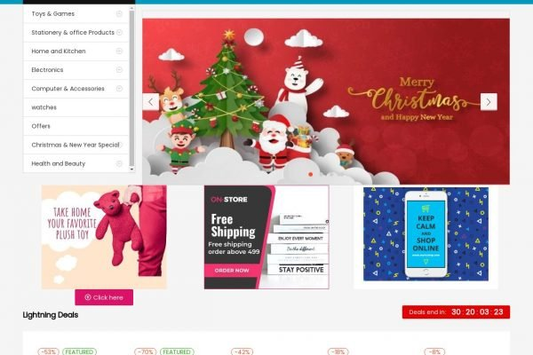 Myricshop | Ecommerce Website Designing in Daryaganj Delhi