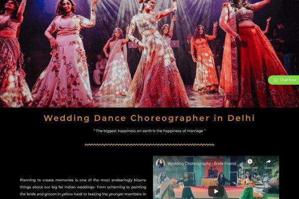 Dance Zone By Vineet- Dance Website Designing in Delhi India
