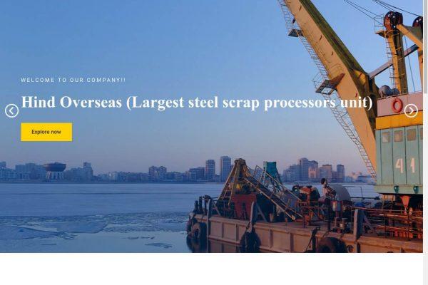 Hind Overseas Corporation- Industry Website Designing in Delhi India.
