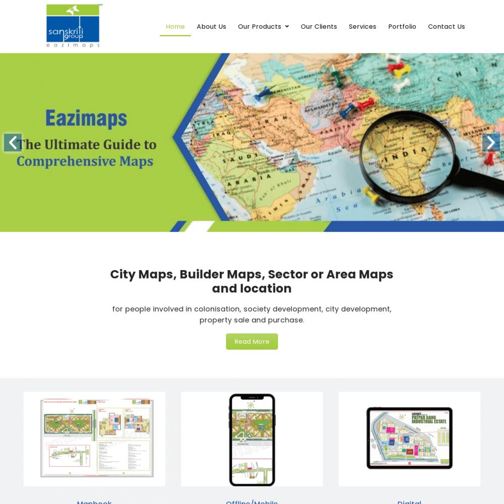 Sanskriti Group -Responsive Website Designing in Delhi