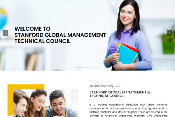 SGMTC- Education Website Designing in Delhi India.