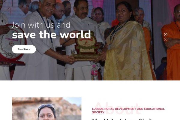Lubbus- Ngo Website Designing in Delhi India