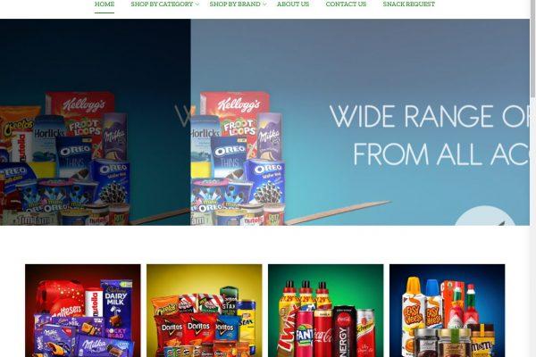Snackzilla- Ecommerce Website Designing in Delhi India